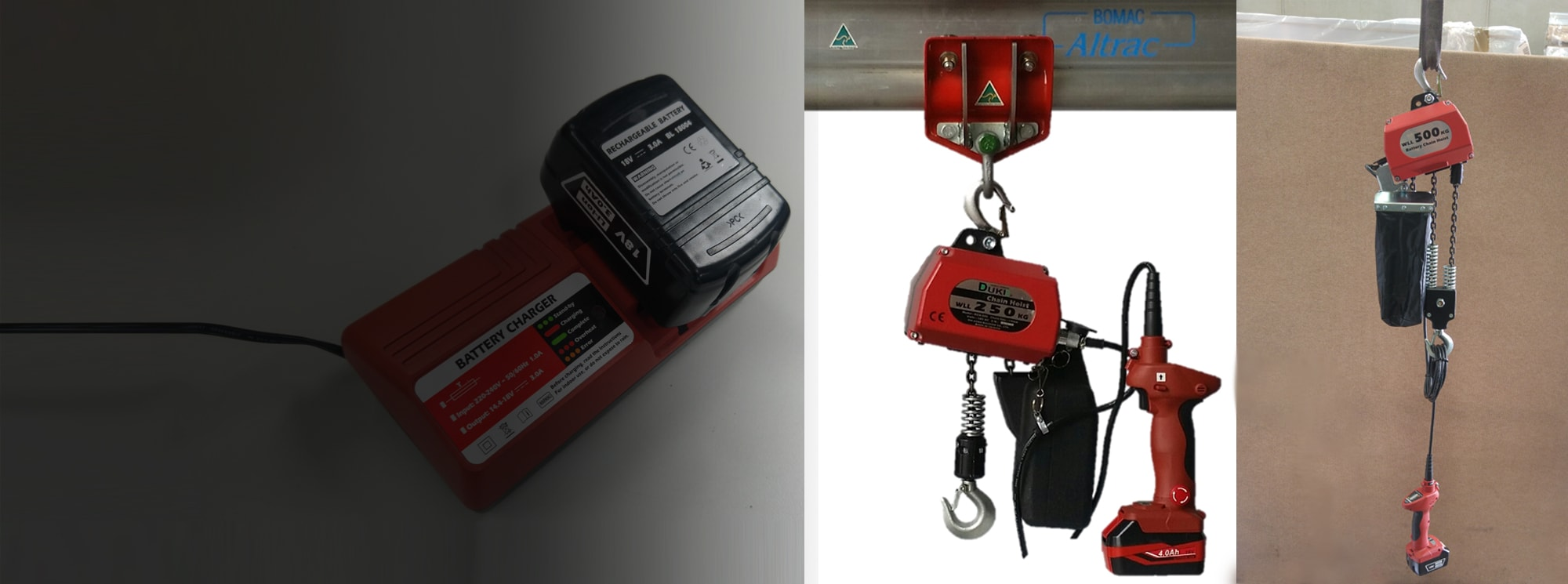 Flash Sale - Duke Battery Hoist