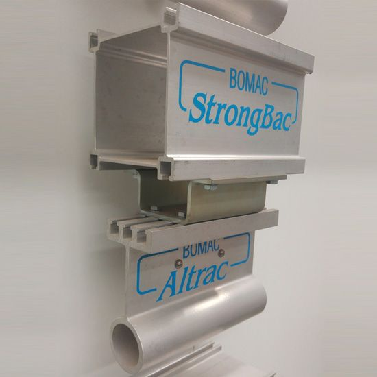 Strongbac, Strongback, aluminium rail, aluminum rail, StrongBac05