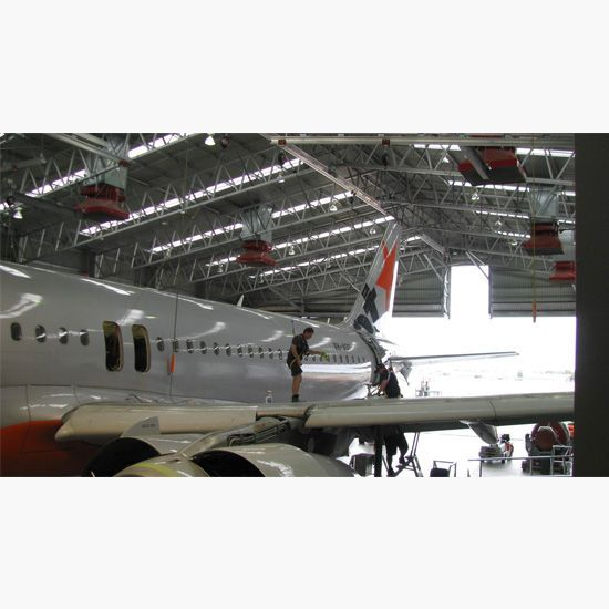 Aerospace fall arrest, Plane height safety, fall arrest system. aerospace height safety