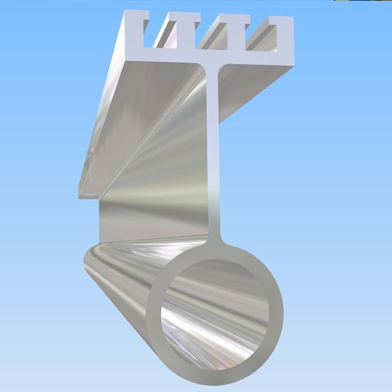 altrac-rail, Altrac and trolley, Aluminium rail system, aluminium crane, aluminum rail system, aluminum crane