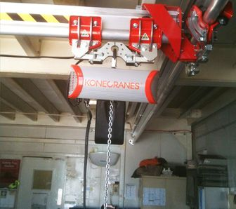 Konecrane electric chain hoist