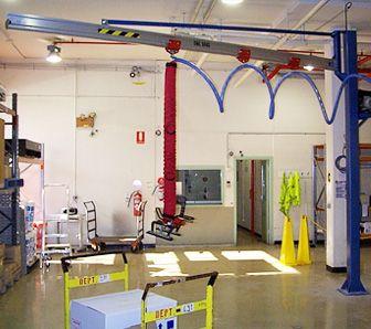 Freestanding jib, vacuum lifter, aluminium jib. aluminum jib, davit arm, boom arm, light weight jib