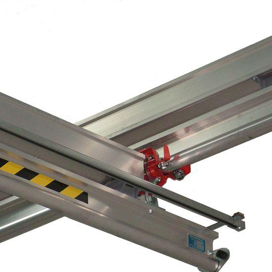 StrongBac, StrongBack, aluminium rail, aluminum rail